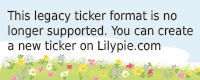 Lilypie Date is set Ticker